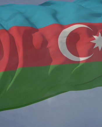 Azerbaijan Flag Loop