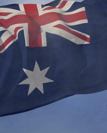 Australia flag loop