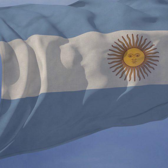 Argentina Flag loop