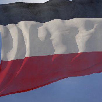 German Empire Flag Loop